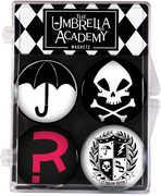 Umbrella Academy Magnet 4-Pack