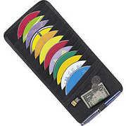 Case Logic Av-12 Black CD Visor-Holds 12