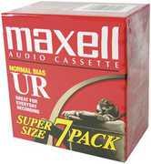 Maxell Ur-90 7PK Brick Normal Bias Audio Cassettes