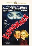 Espionage , Edmund Lowe