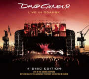 Live In Gdansk [2CD and 2DVD] , David Gilmour