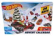 Mattel - Hot Wheels - Advent Calendar