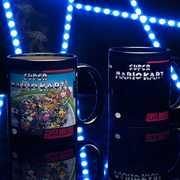 Snes Mario Kart Heat Change Mug