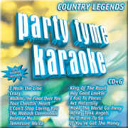 Party Tyme Karaoke: Country Legends , Various Artists