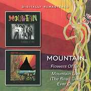 Flowers Of Evil /  Mountain Live (The Road Goes On Forever) [Import] , Mountain