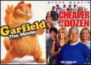 Garfield the Movie/ Cheaper By the Dozen , Bill Murray