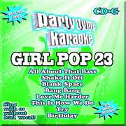 Party Tyme Karaoke: Girl Pop 23 , Various Artists