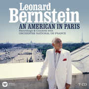 An American In Paris (Boxset with the Orchestre National de France    100th Anniversary on August 25th) , Leonard Bernstein