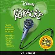 Disney Karaoke, Vol. 3 , Various Artists