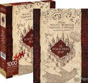 Harry Potter Marauders Map 1,000pc Puzzle