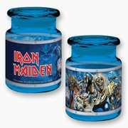 Iron Maiden Eddie's 6 oz Colored Jar (blue)