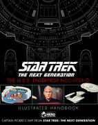 Star Trek The Next Generation: The U.S.S. Enterprise NCC-1701-DIllustrated Handbook