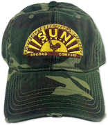 Sun Record Company Low Profile Camo Adjustable Baseball Cap