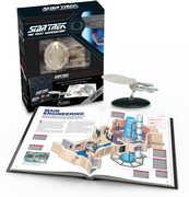 Star Trek The Next Generation: The U.S.S. Enterprise NCC-1701-DIllustrated Handbook Plus Collectible