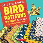 Origami Paper 100 sheets Bird Patterns 6 (15 cm): Tuttle OrigamiPaper: High-Quality Origami Sheets Printed with 8 Different Designs:Instructions for 8 Projects Included