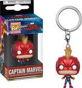 FUNKO POP! KEYCHAIN: MARVEL - Captain Marvel - Captain Marvel w/ Helmet