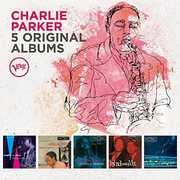 5 Original Albums by Charlie Parker , Charlie Parker