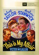 This Is My Affair , Sidney Blackmer, Sr.