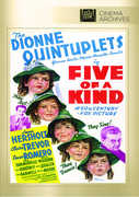 Five of a Kind , The Dionne Quintuplets: Yvonne, Cecile, Marie, Annette, Emelie