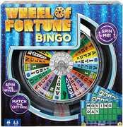 Mattel Games - Wheel of Fortune Bingo Game