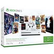 Microsoft Xbox One S 1TB - Starter Bundle: Robot White