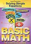Solving Simple Equations , Murray Siegel