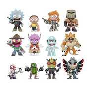 FUNKO MYSTERY MINI: Rick & Morty (ONE Random Figure Per Purchase)