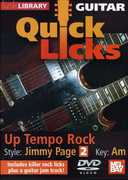 Quick Licks: Jimmy Page - Up Tempo Rock for Guitar , Danny Gill