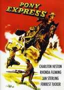 Pony Express , Charlton Heston