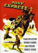 Pony Express , Charlton Heston