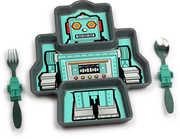 KidsFunwares Me Time: Robot Meal Set