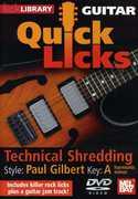 Quick Licks for Guitar: Paul Gilbert-Technical , Andy James