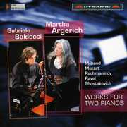 Baldocci & Argerich Play Works for Two Pianos , Gabriele Baldocci