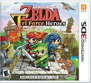 Legend Zelda: Tri Force Heroes for Nintendo 3DS