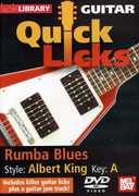 Quick Licks for Guitar: Rumba Blues Style , Steve Trovato