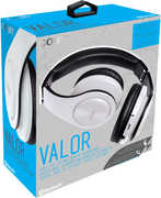 Coby CHBT-611-WHT Valor Folding Bluetooth Headphone W/ Mic