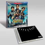 Black Panther Cd Blu-ray Bundle , Chadwick Boseman