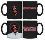 Deadpool /  Bob Ross Heat Change Coffee Mug