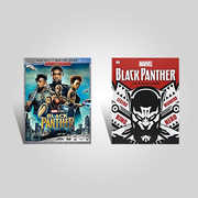Black Panther Ultimate Guide Blu-ray Bundle , Chadwick Boseman