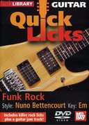 Quick Licks for Guitar: Nuno-Bettencourt Funk Rock , Andy James