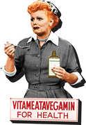 I Love Lucy Vitameatavegamin For Health Funky Chunky Magnet