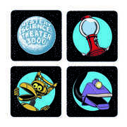 Mystery Science Theater 3K Coaster Set