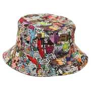 Rick & Morty AOP Bucket Hat OSFM