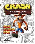 Crash Bandicoot Adult Coloring Book