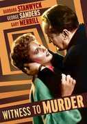 Witness to Murder , Barbara Stanwyck