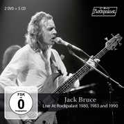 Live At Rockpalast 1980, 1983 And 1990 , Jack Bruce