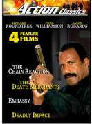 Action Classics: The Chain Reaction /  The Death Merchants /  Embassy /  Deadly Impact , Fred Williamson
