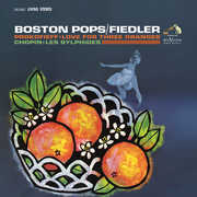 Prokofieff - Love For Three Oranges /  Chopin - Les , Arthur Fiedler
