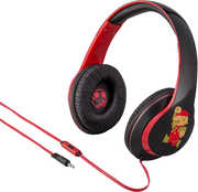 Super Mario Bros TiM40MRFXv6 Over the Ear Headphones Mic Black Red