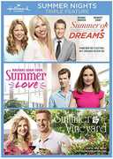 Summer Nights Triple Feature - Summer of Dreams, Summer Love, and Summer in the Vineyard , Debbie Gibson